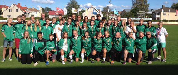B7 Games på Åland 2014, Öland står som segrare
